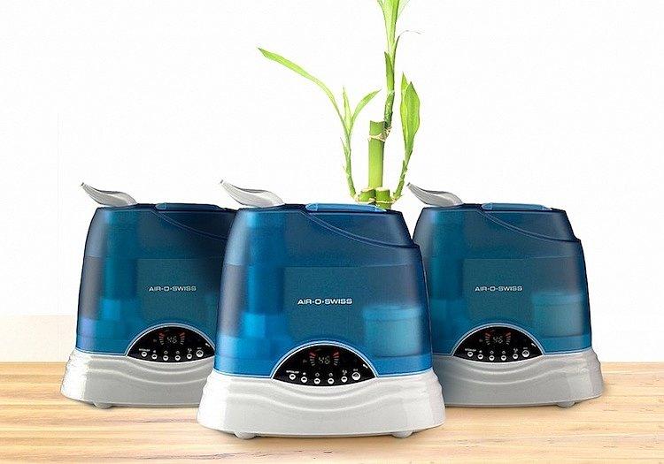 Воздухоувлажнители предназначены для того, чтобы решать проблему сухого воздуха зимой