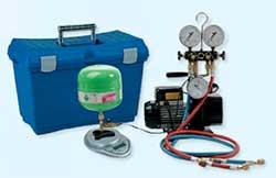 Профессиональное оборудование для дозаправки и устранения течи