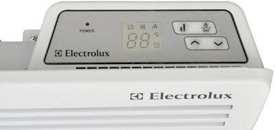 Электрический обогреватель electrolux с цифровым терморегулятором