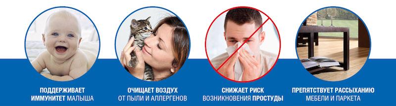 Мойки воздуха Venta купить в Красноярске в официальном магазине