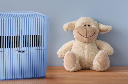 Мойка воздуха - лучший увлажнитель в детскую комнату!